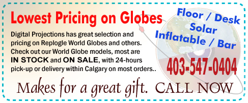 Lowest Pricing on Globes