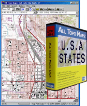 Igage USA, Geo-referenced USGS Topographic Maps