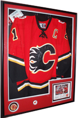 Custom Box Framing for sport jerseys and other items