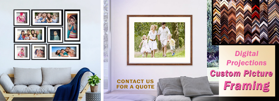 Fast and Economical Custom Picture Frames