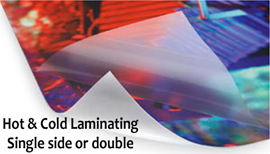 Hot or Cold Lamination