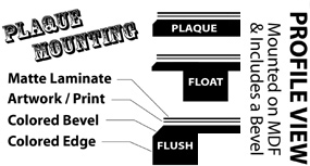 3 Types of Plaque Mounting Service