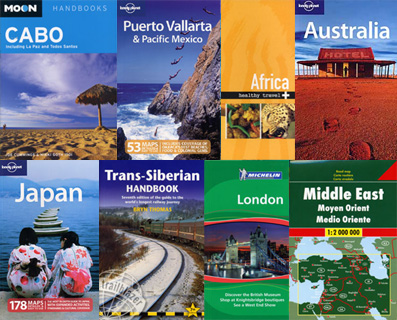Worldwide Travel Books, Guides, and Maps