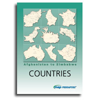 Map Resources - Countries: Afghanistan to Zimbabwe