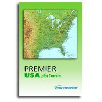 Map Resources - Premier USA plus Terrain