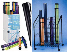 Drafting Tubes & Wire Bins